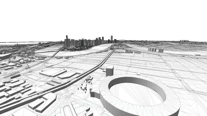 Brisbane 3D Model