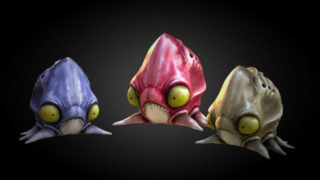 Blargsquids 3D Model