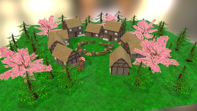 Game Test Setup 3D Model