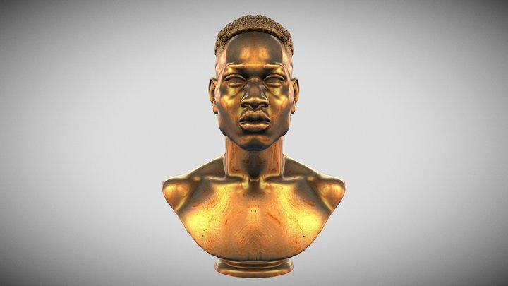 Ahmaud Arbery 3D Model