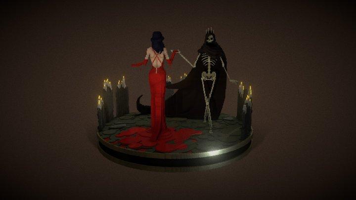 Waltz of The Bone King 3D Model