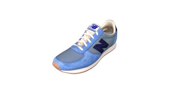 New Balance Sneakers 3D Model