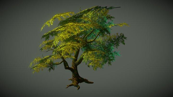 A fantasy tree 3D Model