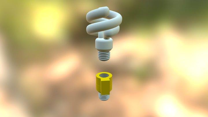 Usb Charging Adapter 3D Model