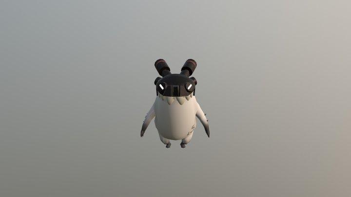 Portfolio I Piece - Monster Character 3D Model