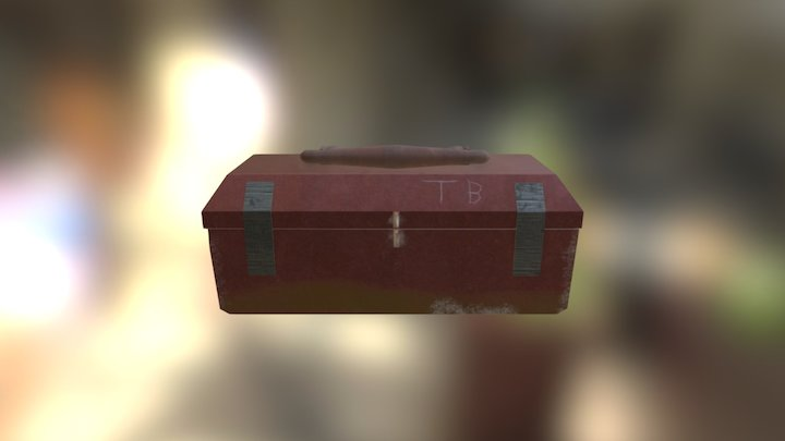 Apocalyptic Toolbox (Easy Prop Model) 3D Model