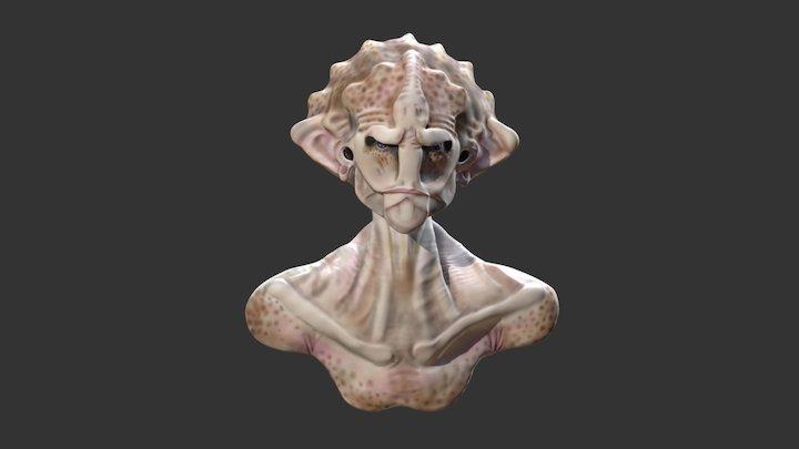 Monster. 3D Model