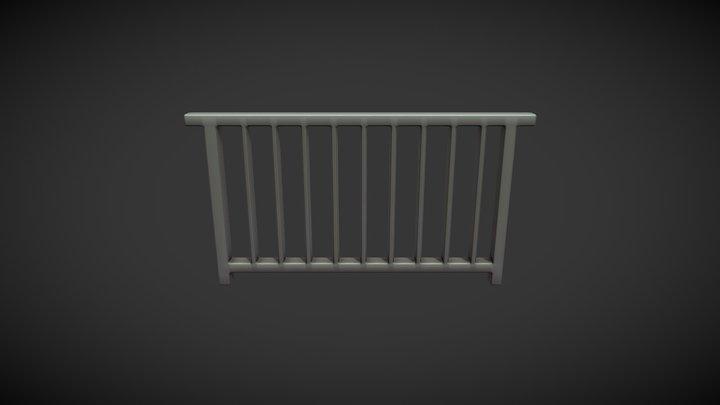 Iron grid 02 3D Model