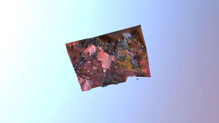 Eglise de Bras de Pontho 3D Model