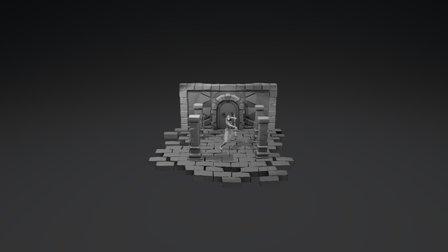 AnubisDiorama 3D Model