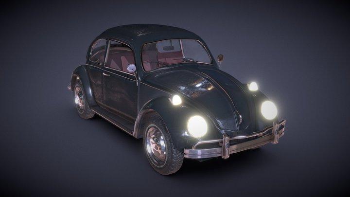 Volkswagen Car 3D Model