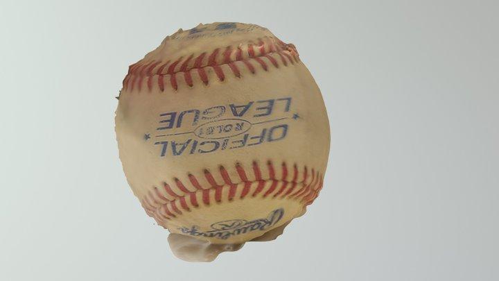 Baseball by Team Shannon 3D Model