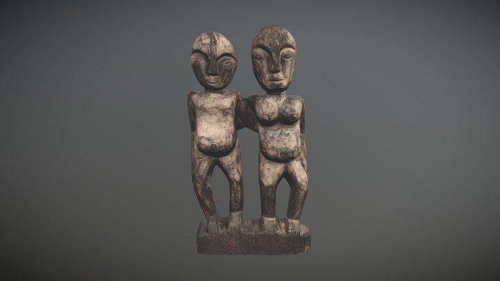 Tanzanian sculpture from Zanzibar 3D Model