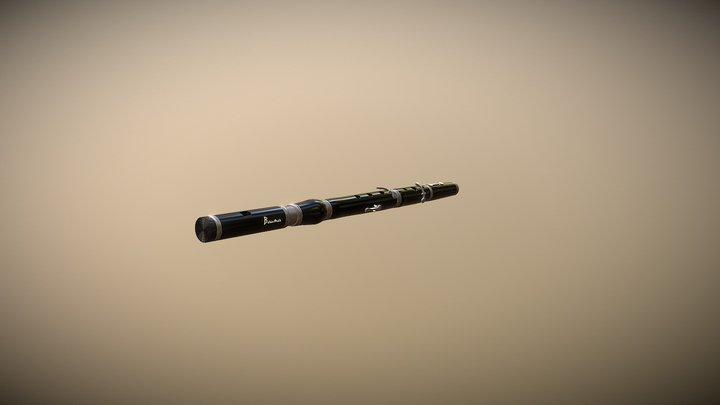 Flute V10skfab 3D Model