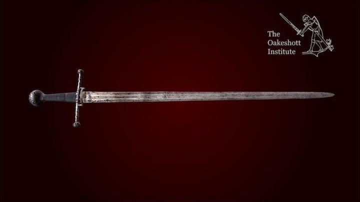Italian Arming Sword 3D Model