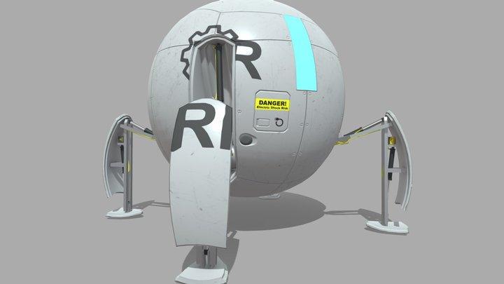 Ball-Robot 3D Model
