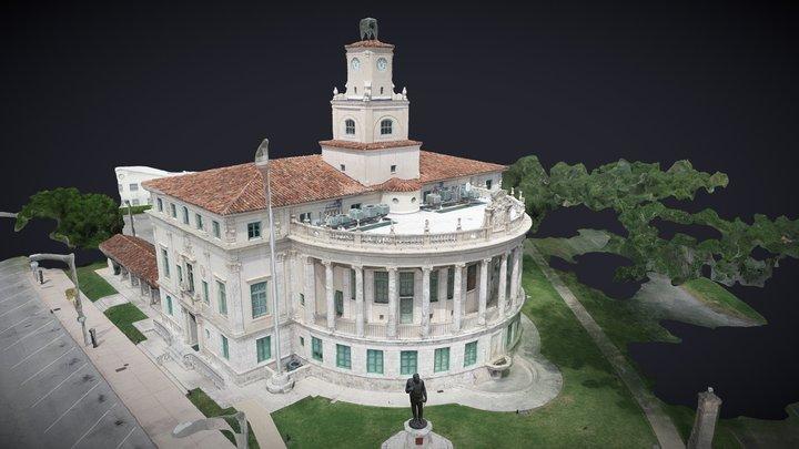 Coral Gables City Hall 3D Model