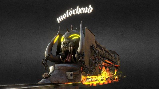 The Train of Motörhead 3D Model