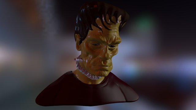 FRANCKIE 3D Model