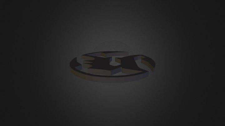 UT Logo 3D Model