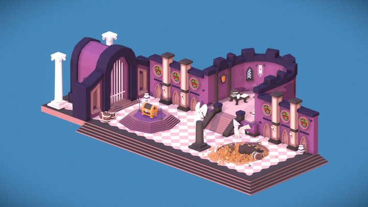 Treasure Room 3D Model