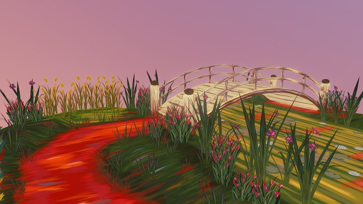 The Lily Pond 3D Model