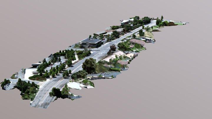 Walnut Creek - Flight 3 3D Model