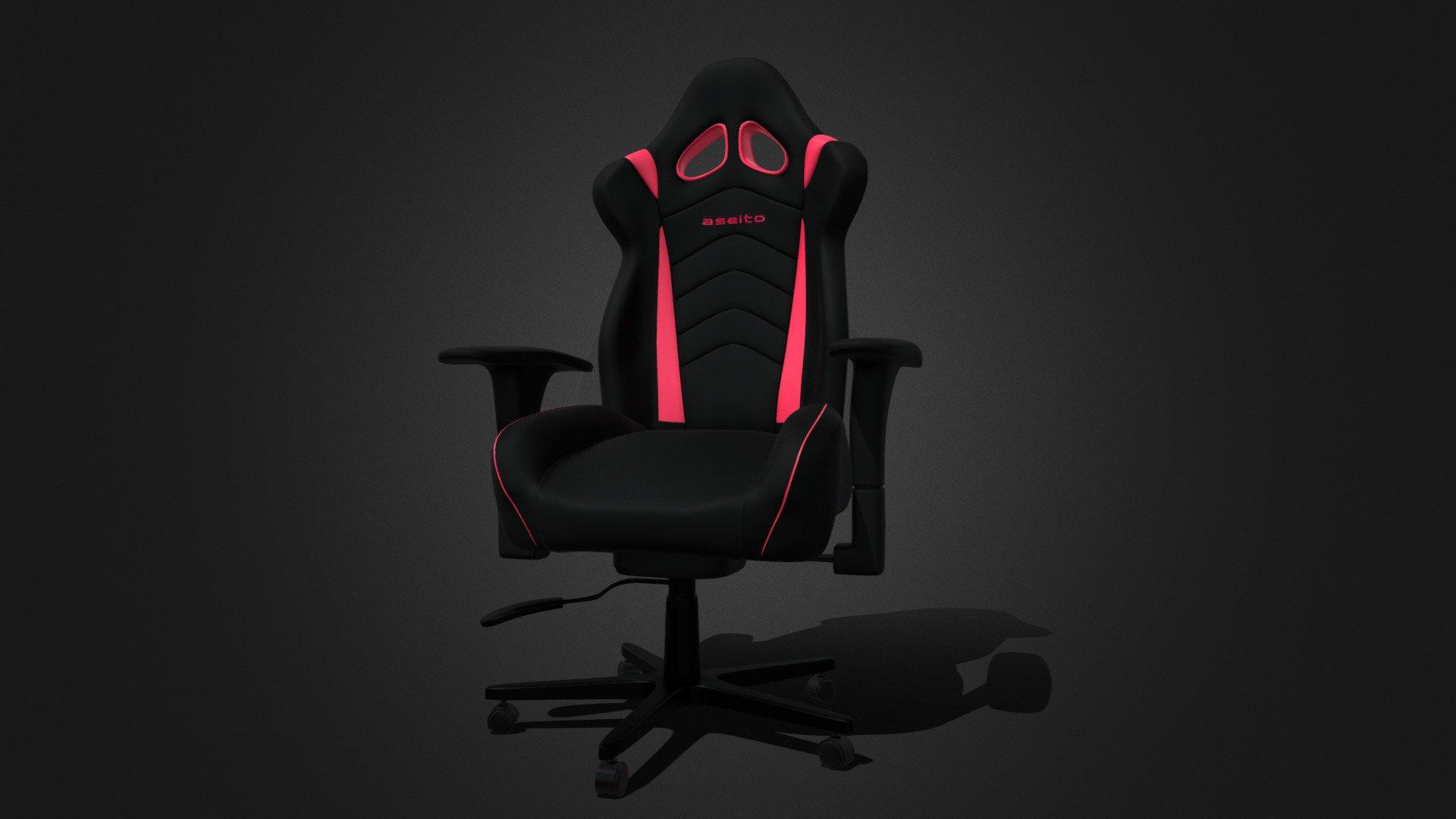 Gaming Chair [FREE DOWNLOAD] - Download Free 3D model by Karlos (@Karldashian) [bcb13eb] - Sketchfab
