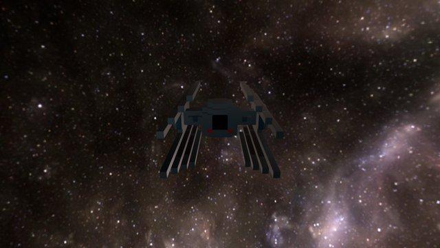 Tie-interceptor 3D Model