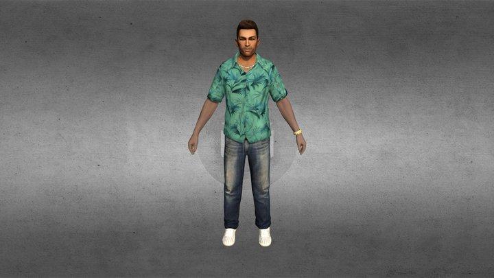 "GTA Thomas ""Tommy"" Vercetti 3D Model"