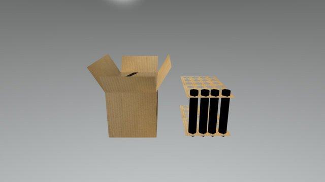 Caja Showspace 3D Model
