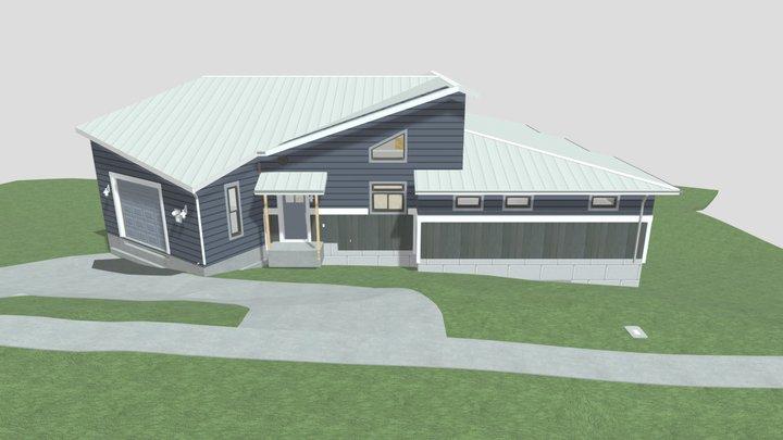 New W. Hillside Residence 3D Model