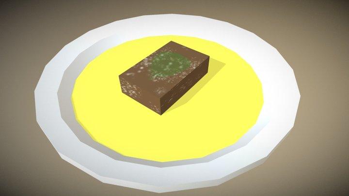Dessert 3D Model