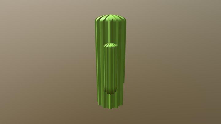サボテンカバー1 3D Model