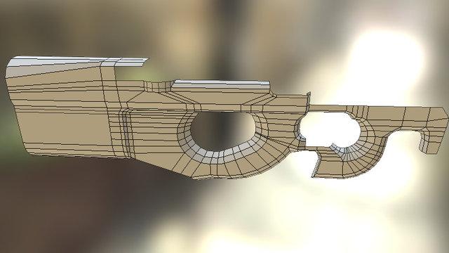 P90 Wip 3D Model