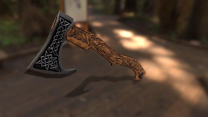 Viking`s axe 3D Model