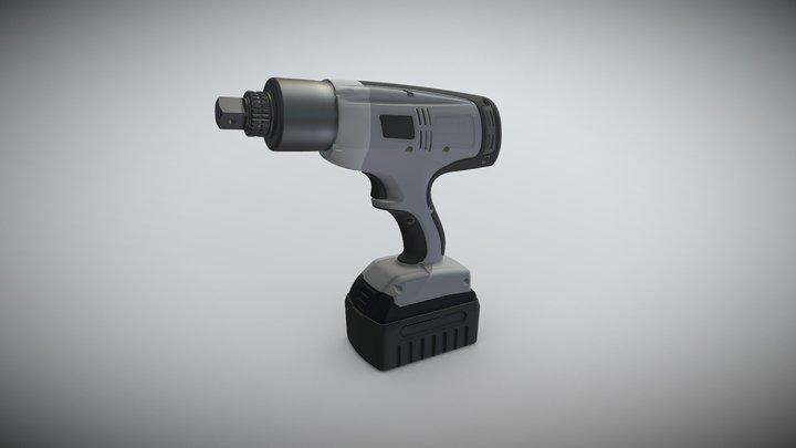 HYTORC Lion Gun 3D Model