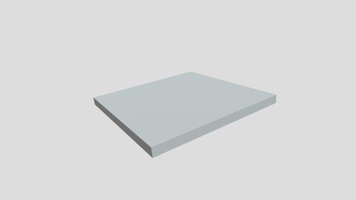 Block Square 3D Model