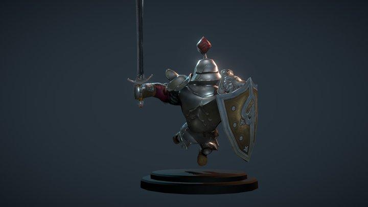 Knight Eryk 3D Model
