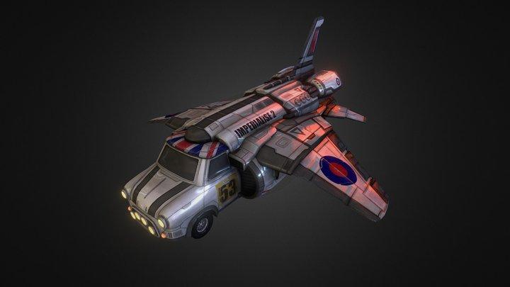 HMSS Imperialise 2 3D Model