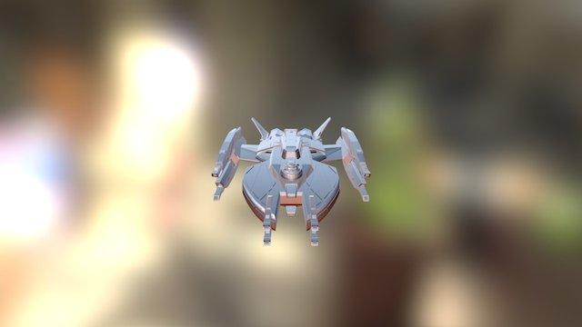 Renegade Class Refit 3D Model