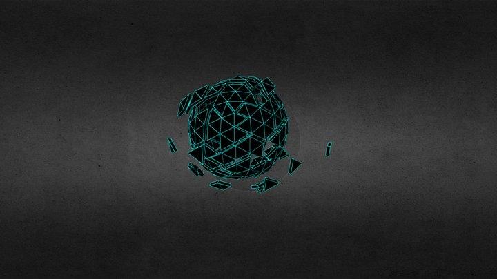 Geometric Explode 3D Model