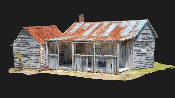 Miners Hut 3D Model