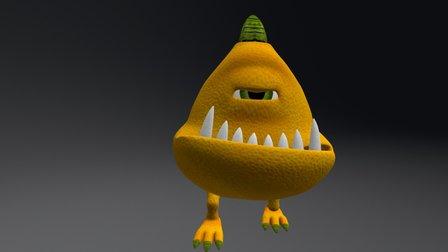 Lemonster 3D Model