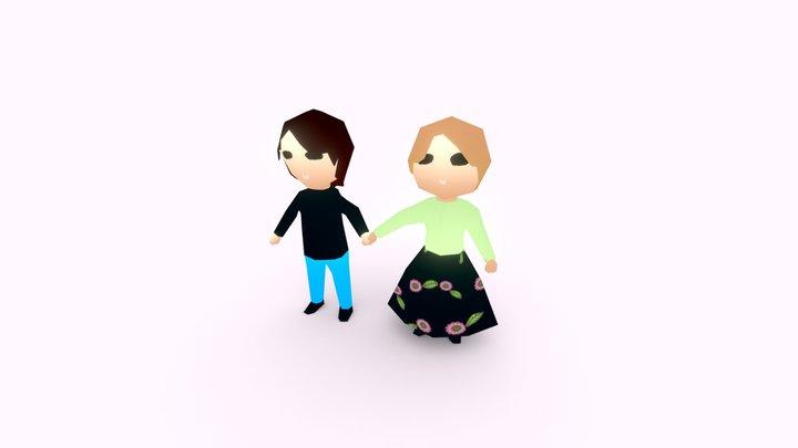 Rako-chan 3D Model