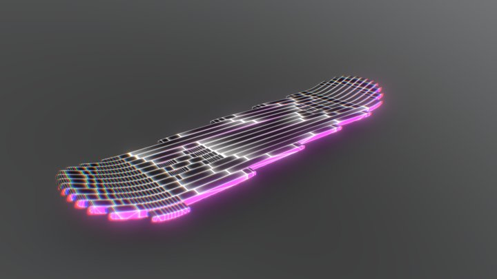#FWDVR Skate Hoverboard 003 3D Model