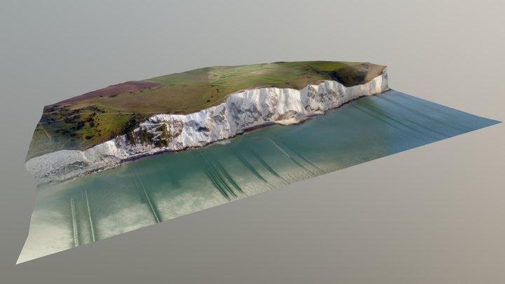 White Cliffs of Dover 3D Model