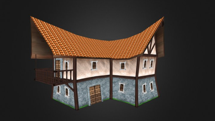 Wisdomia Rich House - with full download link 3D Model