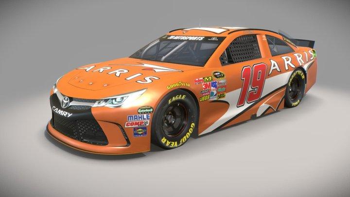 NASCAR Toyota 3D Model