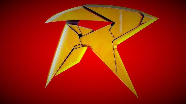 TITANS ROBIN EMBLEM 3D Model